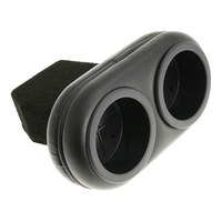1968 - 1969 Mustang Plug & Chug Drink Holder (Black)