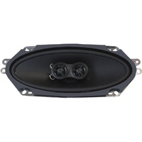 RetroSound 4x10 Inch Premium Ultra-Thin Dash Replacement Speaker Dual Voice Coil