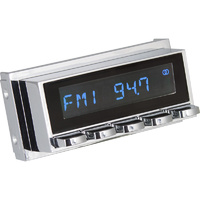 RetroSound RetroRadio Radio Replacement Display Chrome Face & Buttons