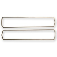 1967 Shelby Eleanor Mustang Tail Light Bezels (Shelby, Pair) - Polished
