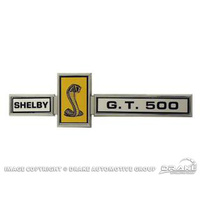 1967 Shelby GT500 Grill Dash & Deck Emblem (Eleanor Fender)