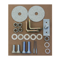 1964 - 1973 Mustang 3-Point Seat Belt Hardware Kit