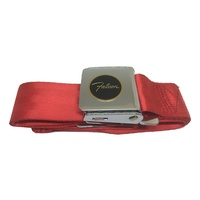 Seatbelt Bright Red with Falcon Logo