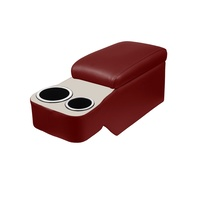 1964 - 1967 Mustang Classic Console - The Saddle (66-67 Dark Red & White)