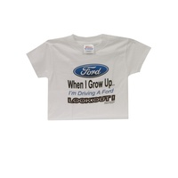 "Kids ""Grow Up Ford"" T-Shirt Size 4"