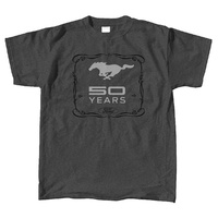 "Mustang ""50 Years"" X-Large Dark Gray T-Shirt"