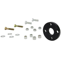 Whiteline Steering Coupling Repair Kit (Rag Joint) XW - XG Falcon Black Polyurethane