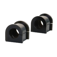 "Whiteline 22mm 7/8"" Universal Swaybar Mounting Bush Kit Black Polyurethane"
