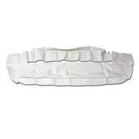 1969 - 1970 Mustang Convertible Well Liner (White)